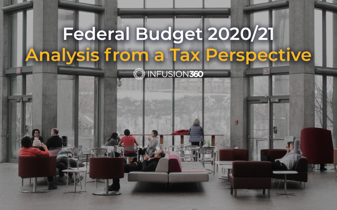 Federal Budget 2020/21 Analysis From a Tax Perspective